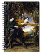 Colonel Acland And Lord Sydney The Archers Spiral Notebook