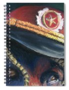 Colonel Nose Knows Close-up Spiral Notebook