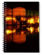 Colonial Beach Docks After Dark Spiral Notebook
