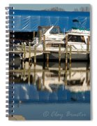Colonial Beach Marina Spiral Notebook