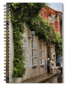 Colonial Buildings In Old Cartagena Colombia Spiral Notebook