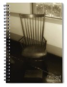 Colonial Comfort Spiral Notebook