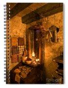 Colonial Kitchen Evening Spiral Notebook