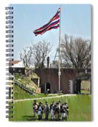 Colonial Soldiers Spiral Notebook