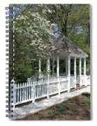 Colonial Springtime Spiral Notebook