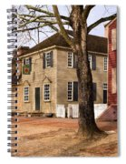 Colonial Street Scene Spiral Notebook