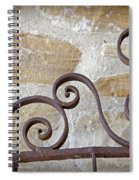 Colonial Wrought Iron Gate Detail Spiral Notebook