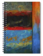 Color Abstraction Li  Spiral Notebook