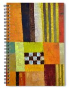 Color And Pattern Abstract Spiral Notebook