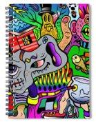Color Bash Acid Tweeter Spiral Notebook
