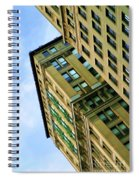 Color Buildings Architecture New York  Spiral Notebook