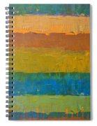 Color Collage Three Spiral Notebook