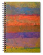 Color Collage Two Spiral Notebook