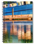 Color Dancing On Water Spiral Notebook