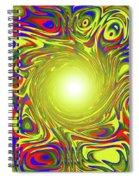 Color Funnel Spiral Notebook