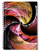 Color In Motion Spiral Notebook