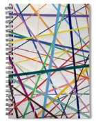 Color Lines Variety Spiral Notebook