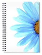 Color Me Blue Spiral Notebook