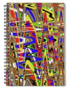 Color Mix Fun Abstract Spiral Notebook