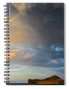 Color Of The Rain Spiral Notebook