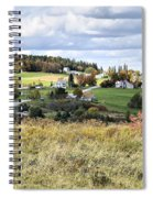 Color On The Hills Spiral Notebook