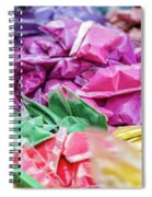 color pigments as an offering in the temple, Chennai, Tamil Nadu Spiral Notebook