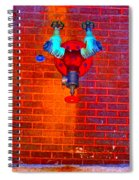 Color Pipe Spiral Notebook