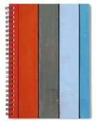 Color Range - Detail Of The Colored Pastels Spiral Notebook