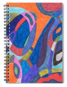 Color Rush Spiral Notebook