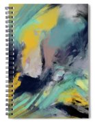Color Space Spiral Notebook