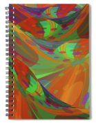 Color Swells Spiral Notebook