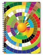 Color Wheel Spiral Notebook