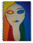 Color Wheel Opposites Spiral Notebook