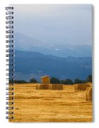 Colorado Agriculture Farming Panorama View Spiral Notebook