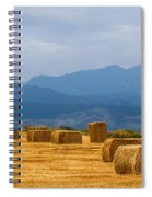 Colorado Agriculture Farming Panorama View Pt 2 Spiral Notebook