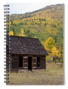 Colorado Cabin Spiral Notebook