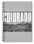 Colorado Cityscape Spiral Notebook