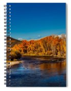Colorado Cottonwoods In Autumn Spiral Notebook