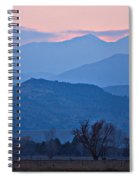 Colorado Country - Boulder County Spiral Notebook