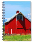 Colorado Country Fine Art Print Spiral Notebook