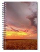 Colorado Eastern Plains Sunset Sky Spiral Notebook