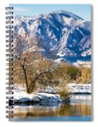 Colorado Flatirons 2 Spiral Notebook