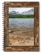 Colorado Love Window  Spiral Notebook