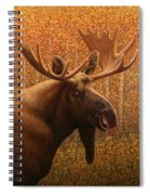 Colorado Moose Spiral Notebook