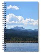 Colorado Mountain Lake Spiral Notebook