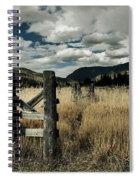 Colorado Mountain Meadow Spiral Notebook