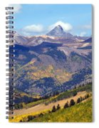 Colorado Mountains 1 Spiral Notebook