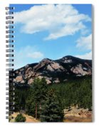 Colorado Mountains Spiral Notebook