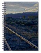 Colorado Railroad Crossing Spiral Notebook