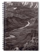 Colorado River At Desert View Grand Canyon Spiral Notebook